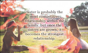 Big Sister Standing