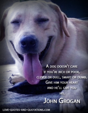 Dog Love Quotes that Celebrate
