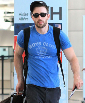Chris Evans chatted with HitFix about a bunch of stuff but naturally ...