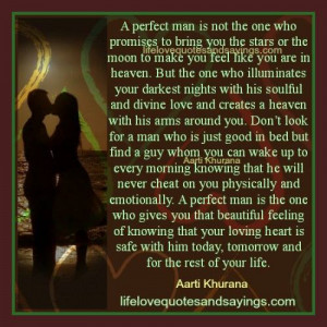 The Perfect Man For You..