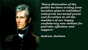 Andrew jackson famous quotes 3