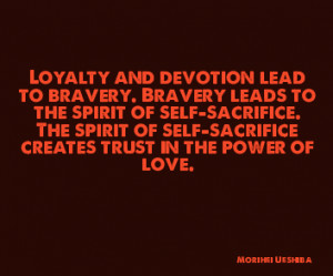 Loyalty And Devotion