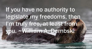 Favorite William A Dembski Quotes