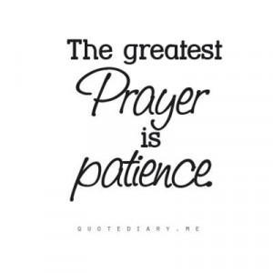 The Greatest Prayer...