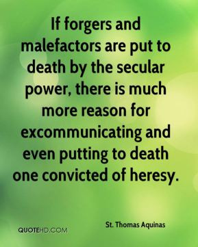 St. Thomas Aquinas Top Quotes