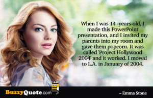 Emma Stone Quotes From The Help Emma stone quotes by buzzyquote