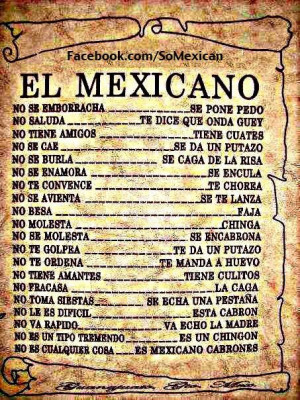 el mexicano # mexican # quotes # funny 16 notes