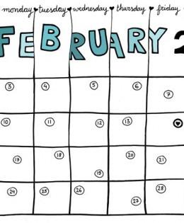 Calendar Template Photoshop
