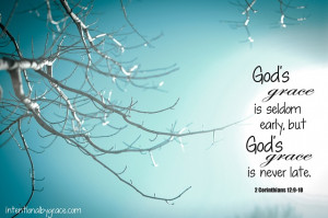 Intentional Conversations: God's Grace is Sufficient