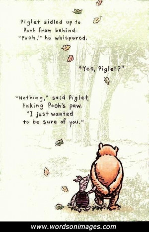 Friendship quotes winnie the pooh