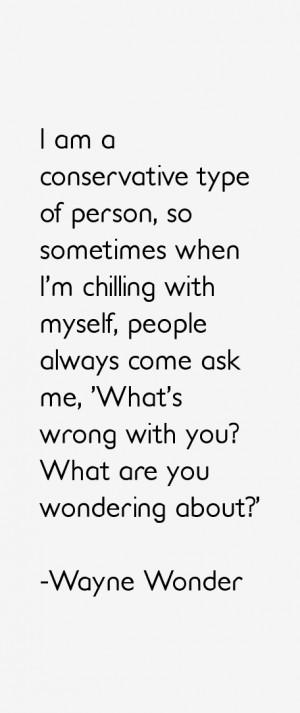 Wayne Wonder Quotes & Sayings
