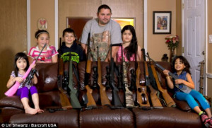 and sisters in arms: Washington father equips his 10-year-old daughter ...