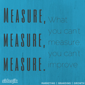 Measure, measure, measure. What you can't measure, you can't improve