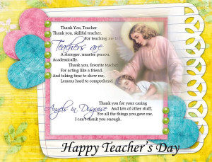 Teacher's Quotes and Prayers