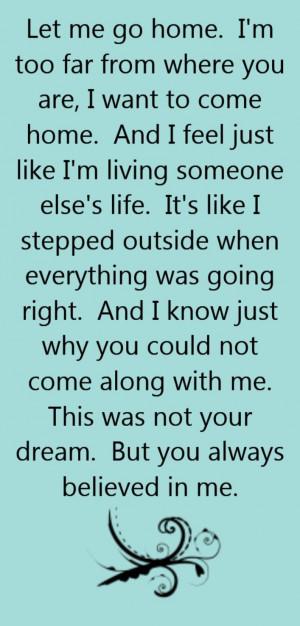 Blake Shelton - Home - song lyrics, song quotes, songs, music lyrics ...