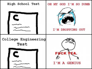 funniest college test quotes, funny college test quotes
