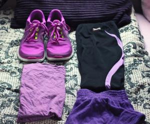 clothes, colour, motivation, nike, nike free run, purple, stylish ...