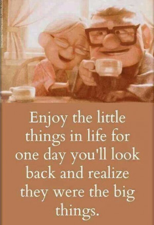 Quotes enjoy the little things...