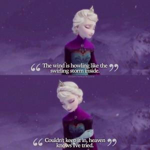 frozen elsa movie disney princess quote: Frozen Elsa, Disney Quotes ...