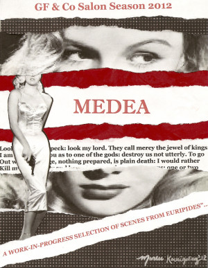 direct quotes from the greek play medea OTOA VERSE MEDEA NOIR