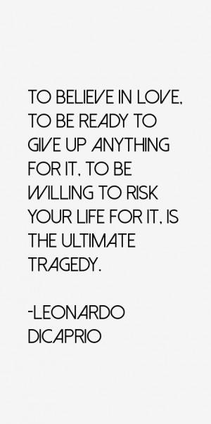 Leonardo DiCaprio Quotes & Sayings