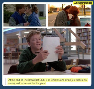 Brians essay from the breakfast club