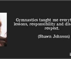 Gymnastics Quotes Shawn Johnson