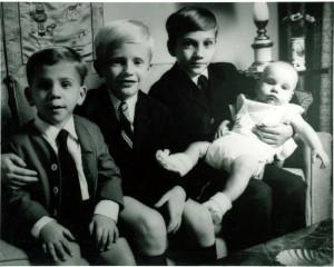 Margaret Truman Daniel 39 s four sons as children