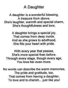 poems about daughters with pictures - Yahoo Search Results