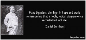 More Daniel Burnham Quotes