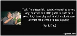 More Ben E. King Quotes