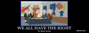 The right to bear arms, or just certain arms? (weapons, revolution ...