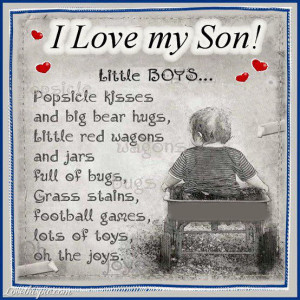 Love My Son Pictures, Photos, and Images for Facebook, Tumblr ...