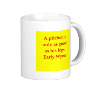 early wynn quote classic white coffee mug