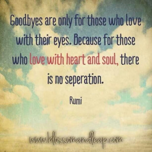 No separation.