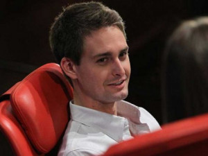 Evan Spiegel, CEO of Snapchat
