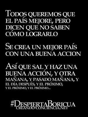 creando conciencia #josé felipe #reflexión