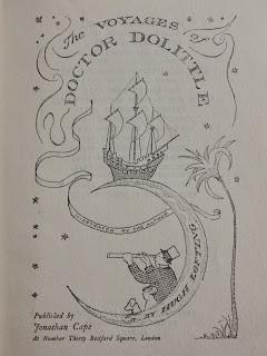 Hugh LOFTING, The Voyages of Doctor Dolittle , 1923.