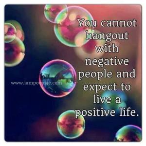Stop being so negative, people