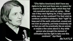 How do libertarians feel about the following quote from Ayn Rand?