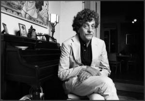Portrait of American author Kurt Vonnegut Jr. (1922 - 2007) as he ...