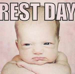Rest day: Rest Day