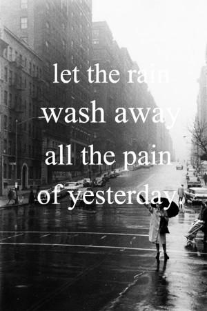 Good Morning Rain Quotes Future Quotes