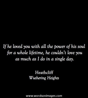 Love quotes emily bronte