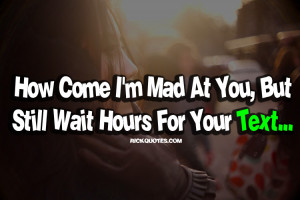 Quotes About Waiting For A Text #1
