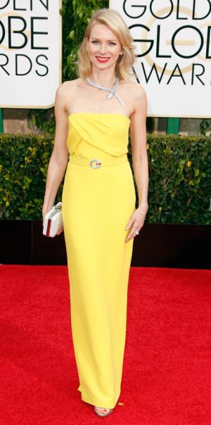 Naomi Watts Golden Globes
