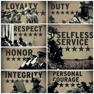 Army core values   army fiancé   Pinterest