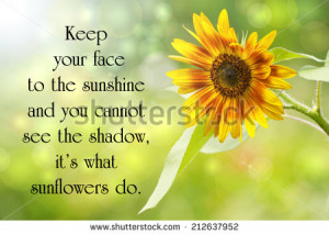 Inspirational quote on life by Helen Keller, with a beautiful ...