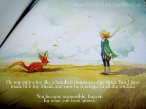 little prince quote