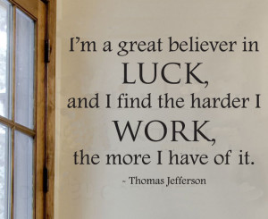 English poetry luck Jefferson inspirational quotes Foreign Office ...